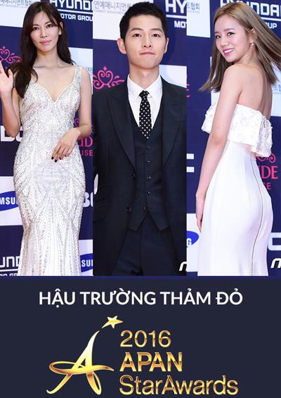 Hậu trường Thảm đỏ Lễ trao giải APAN Star Awards 2016