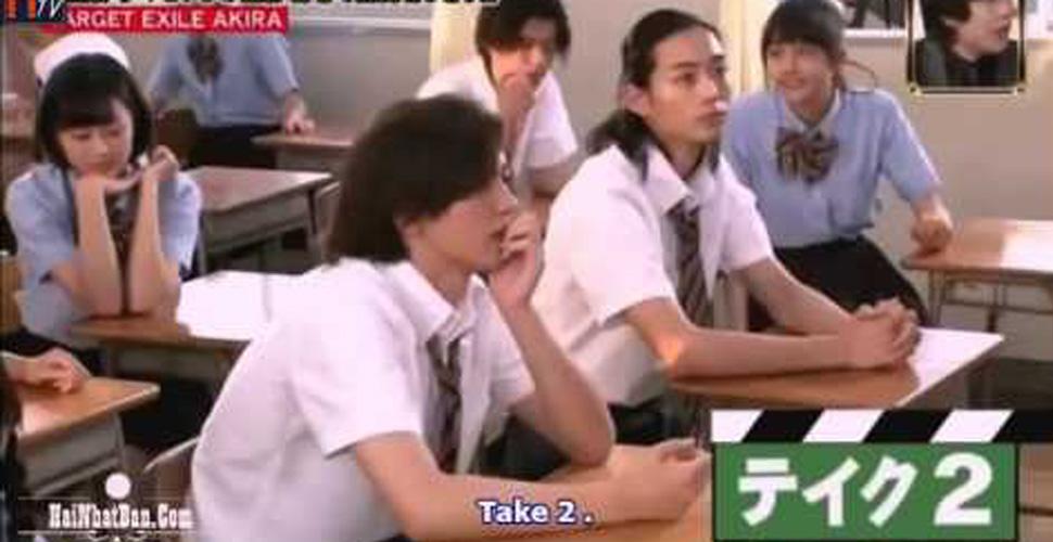 Học sinh troll thày giáo Onizuka trong GTO Gameshow Prank