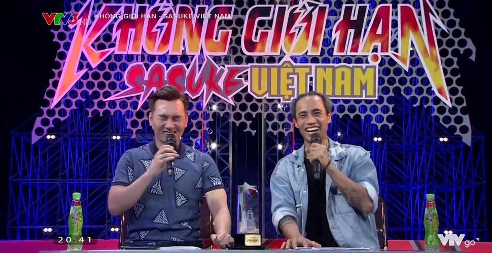 Sasuke Việt Nam: Tổng hợp những pha bình luận bá đạo của 2 BLV Nguyên Khang và Thành Trung