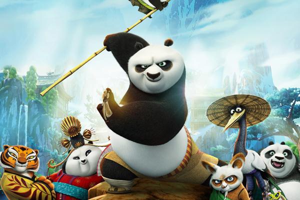 Kung Fu Panda 3 không có đối thủ tại phòng vé Bắc Mỹ