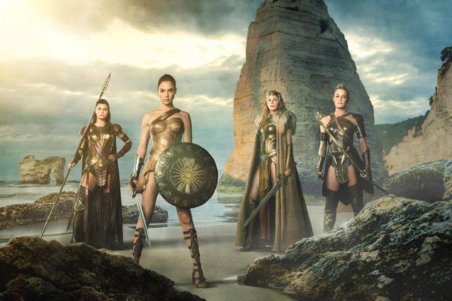 Các nữ chiến binh Amazon trên phim và trong truyền thuyết khác nhau ra sao