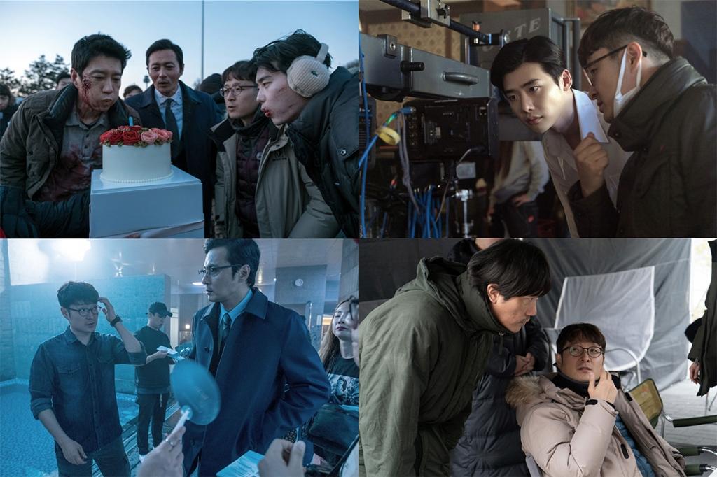 V.I.P tiết lộ đoạn teaser gay cấn của Jang Dong Gun, Lee Jong Suk và Kim Myung Min