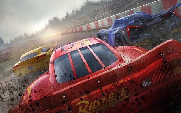 Cars 3 - Cái kết đẹp cho tay đua cự phách Lightning McQueen