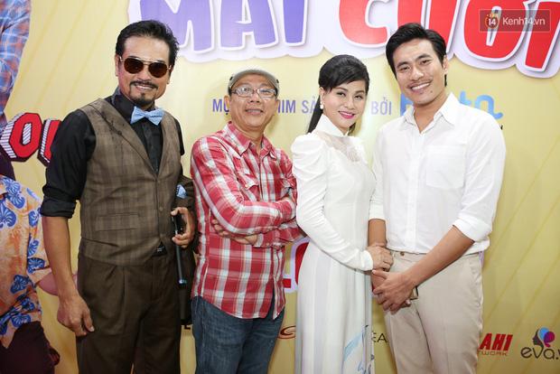 Kiều Minh Tuấn - Cát Phượng tông xuyệt tông dự sự kiện ra mắt phim