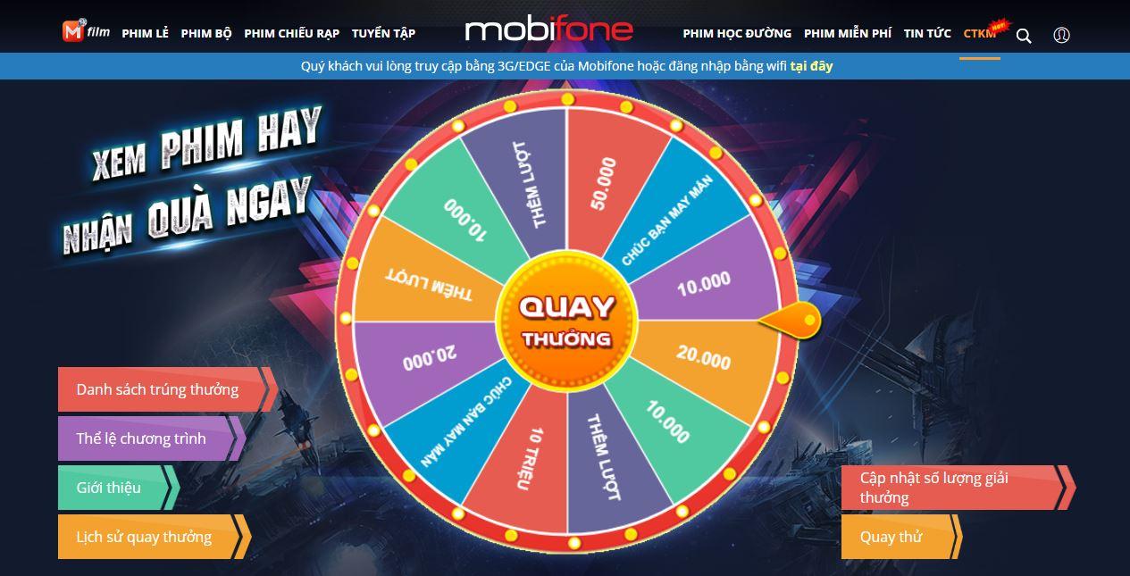 Nhận ngay 1GB data TỐC ĐỘ CAO và cơ hội sở hữu 10 TRIỆU ĐỒNG cùng MobiFone