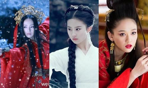 Top 5 nữ hiệp võ công cao cường khiến nhiều chàng trai mê mẩn trong phim kiếm hiệp Trung Quốc